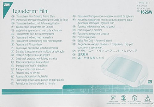 3m Tegaderm Transparent Film Dressing 4