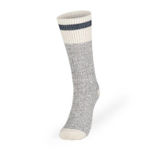 Women's Kodiak Hiking Socks 2 Pack: Natural Gray/Denim, Size 4-10