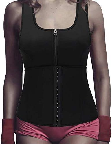 Women Hourglass Slimming Sauna Sweat Vest Weight Loss Waist Trainer Body Shaper