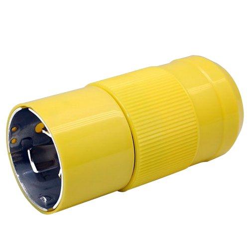 Marinco 6361CRN 50A 125V Male Plug (50a Weatherproof Covers)