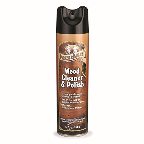 Parker Bailey cleaning product Wood Cleaner & Polish Aerosol Spray, 125 oz