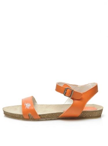 Nous Polo Assn Sandales Mode Blais Femmes Ora Orange Ora