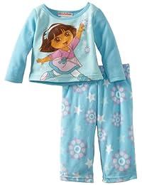 AME Sleepwear Dora Falling Star Pajama Set