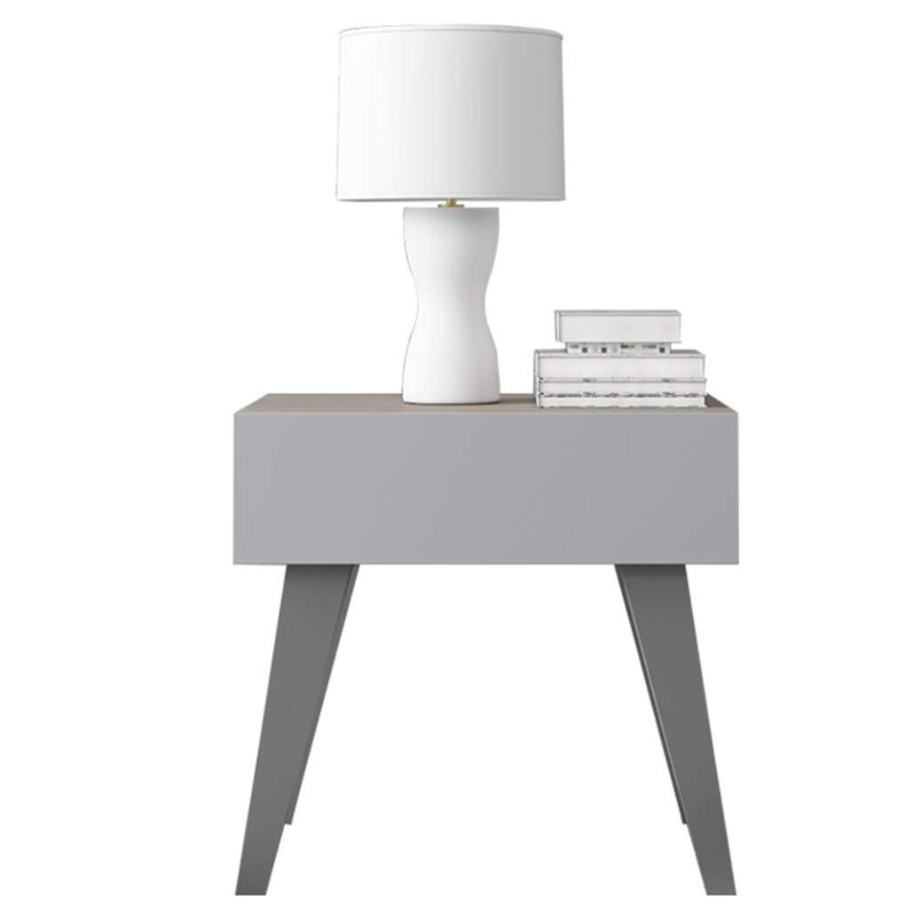 BJYG Nachttisch, moderner Fach-Schließfach-Beistelltisch-Speichereinheit-Schlafzimmer-Möbel-Kabinett-Badezimmer-Schlafzimmer-Leben und Flur