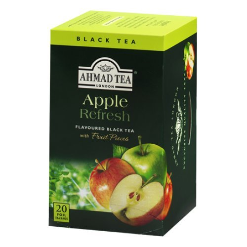 Ahmad Apple Black Tea - 20 Teabags (Apple Green Tea Tea)