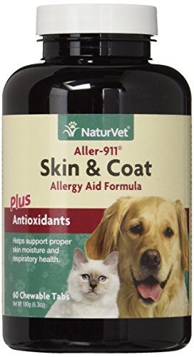 NaturVet Aller 911 Allergy Antioxidants ChewableTablets product image