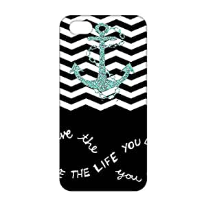 Live The Life You Love Quotes 3D Phone Case for iPhone 5s