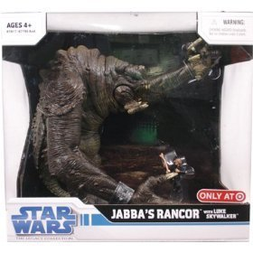 (Star Wars Legacy Collection Exclusive Deluxe Battle Pack Jabba's Rancor with Luke Skywalker)
