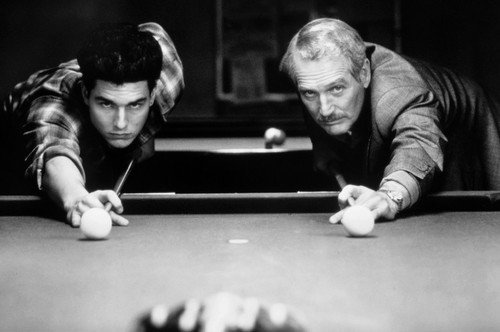 Color Of Money Paul Newman Tom Cruise about to shoot pool 24x36 Poster (Tom Cruise Style)