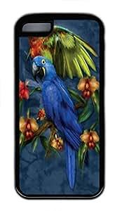 LINMM58281Tropical Friends Custom Personalized Design DIY Back Case for iphone 5/5s TPU Black -1210427MEIMEI