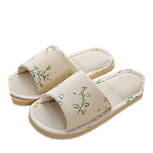 Pursuit-of-self 2018 Summer Flats Shoes Woman Casual Sneakers Home Slippers,YM-PMYH Grass,6.5