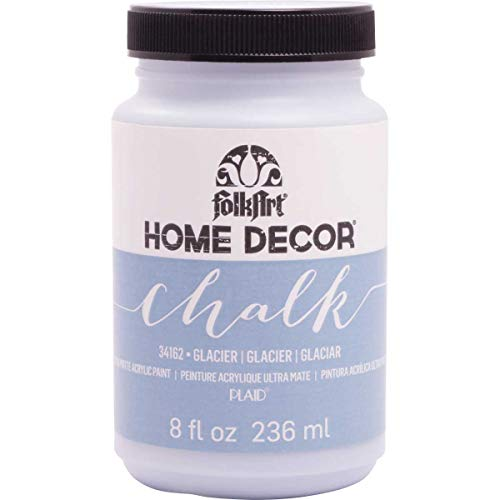 FolkArt Home Decor Chalk Furniture & Craft Paint in Assorted Colors (8 Ounce), 34162 Glacier