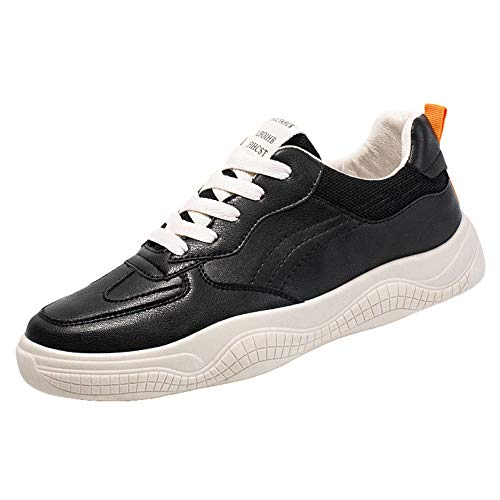 Men's Running Shoes,SMALLE◕‿◕ Fashion Breathable Sneakers Mesh Soft Sole Casual Athletic Lightweight Walking Gym Shoes Black ()