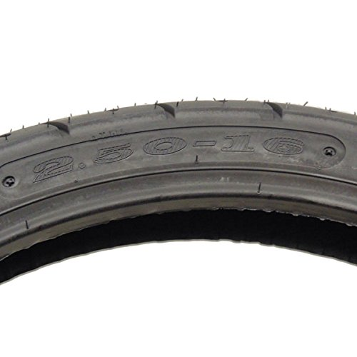 P83 Tire Size 2.50-16 Front//Rear Motorcycle On Road Street Performance Tread