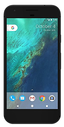 Google Pixel 32GB - Factory Unlocked - Quite Black - 5in Android Smartphone (Renewed)