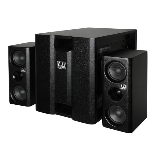 LD Systems Dave 8 LDDAVE8XS -Channel PA System, Black Musical Distributors Group