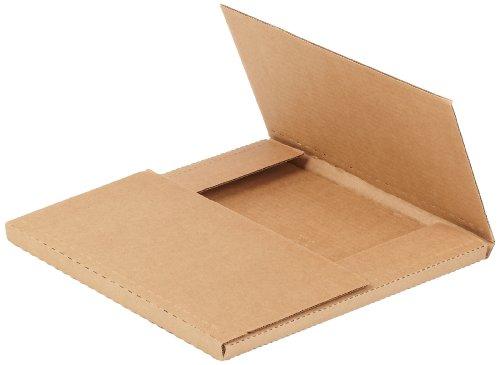 "Aviditi M12121K Corrugated Easy-Fold Mailer, 12-1/2"" Length"