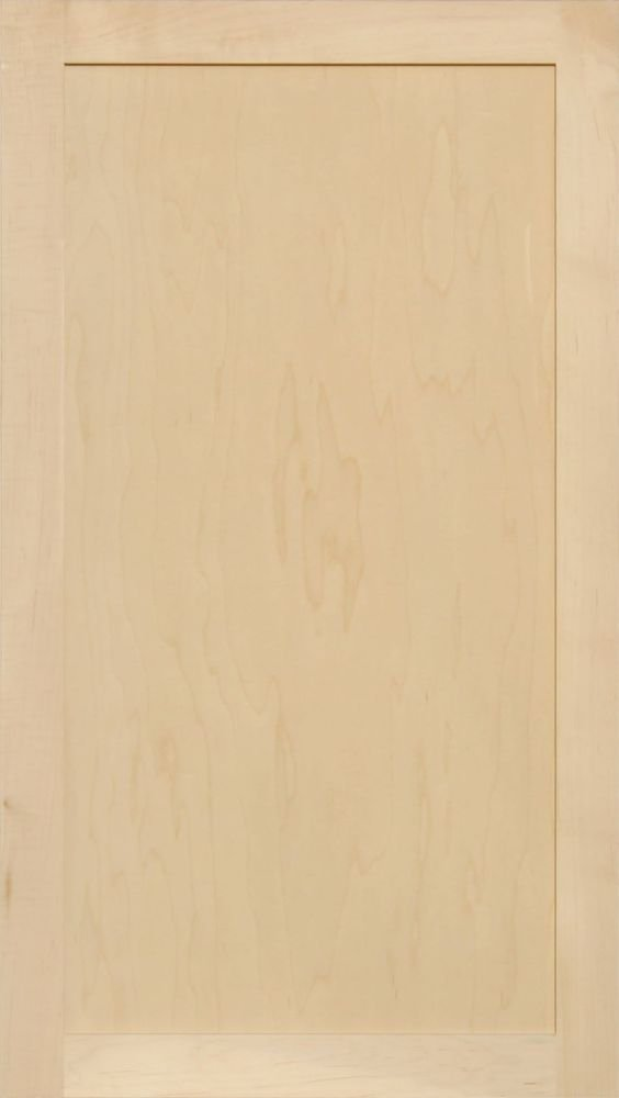 Unfinished Maple Shaker Cabinet Door by Kendor, 39H x 22W