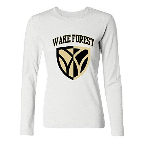 SDUAE Women's Wake Forest University Logo Detail Shield Long Sleeve T ()