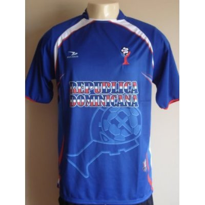 new styles e5f28 3906c Amazon.com: DOMINICAN REPUBLIC SANTO DOMINGO SOCCER JERSEY T ...