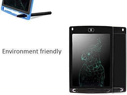 """Aquarius LCD Writing Tablet 8.5/"""" Black"""