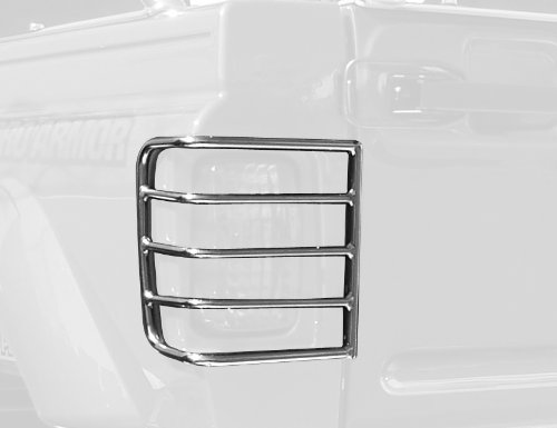 - Pro Armor Y074042SS Stainless Steel Tail Light Guard - Pack of 2