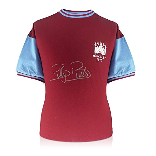 - Billy Bonds Signed West Ham 1975 FA Cup Final Soccer Jersey | Autographed Memorabilia