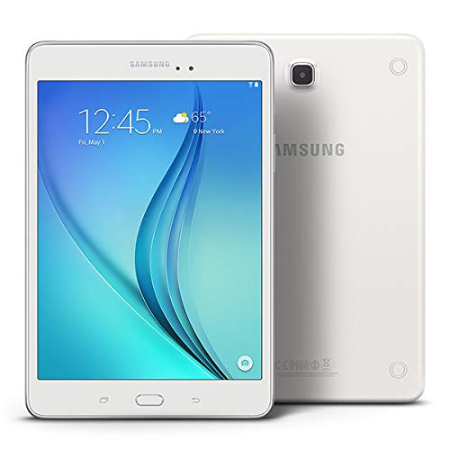 Samsung Galaxy Tab A SM-T350 16GB 8-Inch Tablet - White (Renewed) (Best Android Lollipop Features)