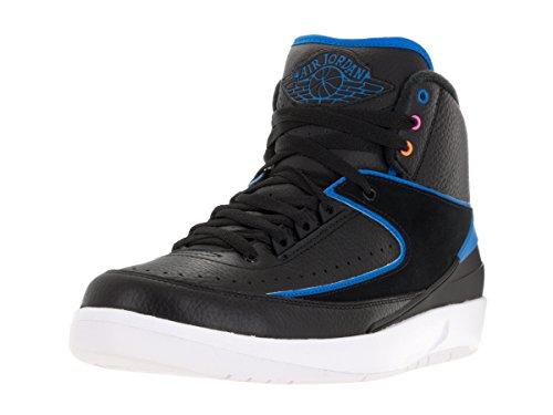 Air Photo 2 Retro De Nike Bleu blanc Hommes Chaussures Basket ball Jordan Pour Rose fr Noir noir Tq7WW1d
