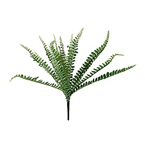 "Allstate 12"" Artificial Green Sword Fern Bush Foliage Decoration 107"