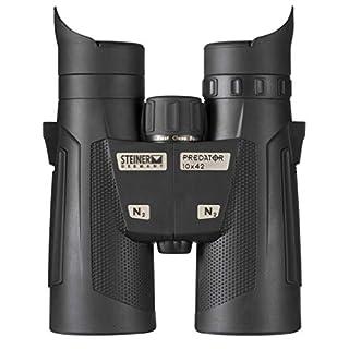 Steiner Predator 10x42 Binoculars - Versatile Lightweight Performance Hunting Optics for Early Season or Heavy Cover Hunters