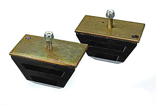 Energy Suspension 9.9109G Universal Bump Stop; Black; Low Profile Competition Style; H-2.5 in.; L-4.5 in.; W-2.5 in.; Incl. 2 Per Set; Performance Polyurethane; ()