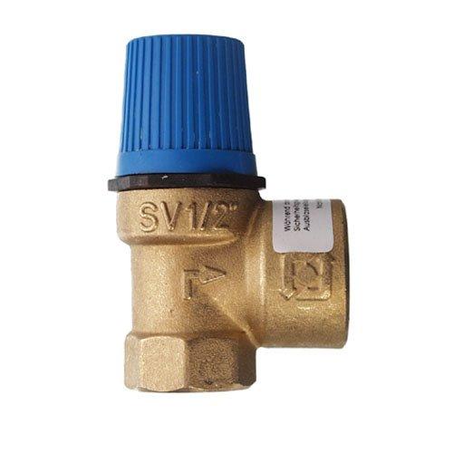 Cornat T593712 Soupape de sécurité 1/2'' 10, 0 bar