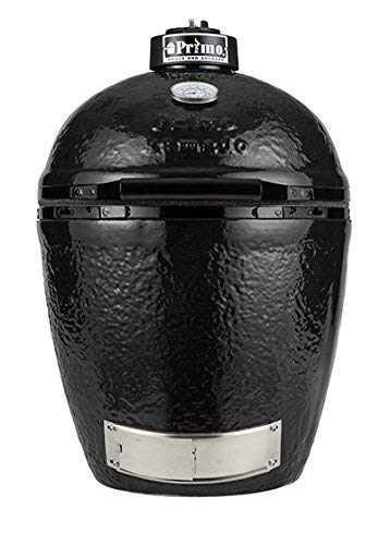 (Primo Grills 771 Primo Charcoal Grill, Black)