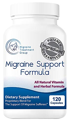 Migraine Treatment Group: Migraine Support Formula – 1 Month Supply- All Natural Formula, 12 Clinically Backed Ingredients, Helps Build a Defense Against Internal Migraine Conditions