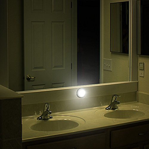 battery operated lights bathroom luckled motion sensor light battery powered led closet 17266