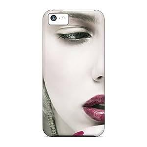 Premium Iphone 5c Case - Protective Skin - High Quality For Scarlett Johansson Beautiful Lips