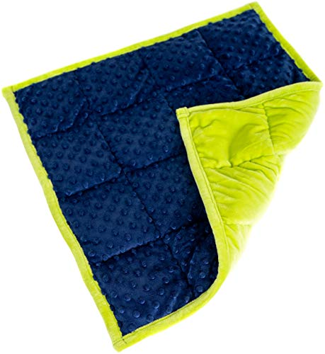 Weighted Lap Pad for Kids - Blanket for Children 21 x 1 x 19 inches 4.6 pounds. Classroom and Special Education Supplies.
