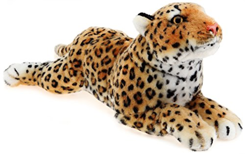 Leah the Leopard | 20 Inch Stuffed Animal Plush | By Tiger Tale Toys - Safari Hunter Costume For Babies