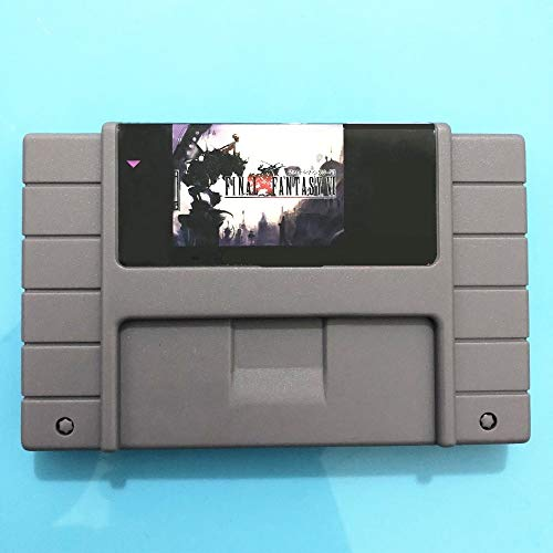 Save File Final Fantasy VI 16 Bit Super Game Card For 46 Pin Game Player