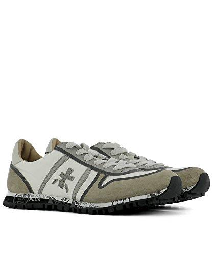 Premiata Sneakers Uomo SIMON2133 Camoscio Bianco