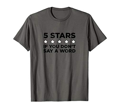 Ride Share - Don't Say A Word 5 Star T-Shirt