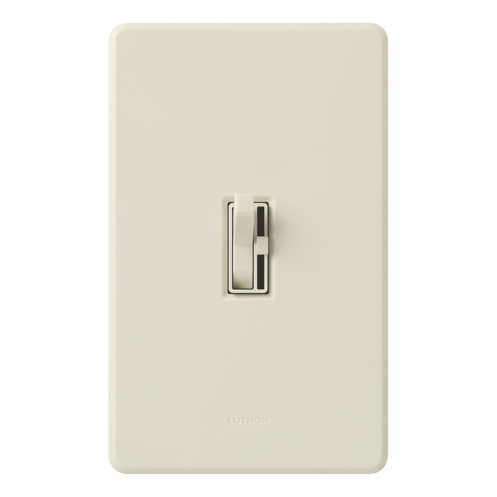 Lutron Tgcl 153ph La Toggler Cfl Led Single Pole 3 Way Three Switch One Dimmer Light Almond Wall Switches