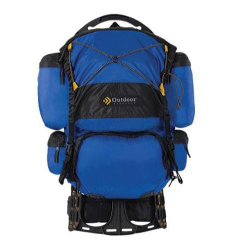 Outdoor Products Dragonfly External Frame Backpack (Cobalt)