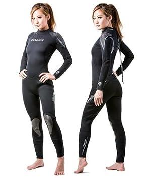 Oceanic Pioneer - Traje de Neopreno Completo para Mujer (7 mm ...