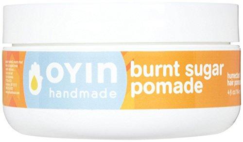 Oyin Handmade Burnt Sugar All-Veggie Pomade, 4 Ounce (Protectant Pomade)