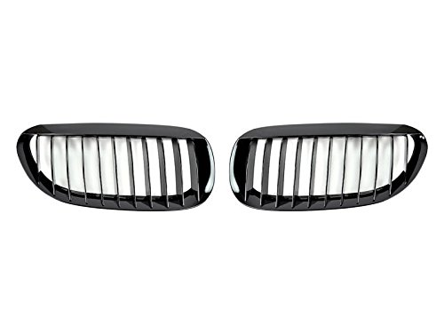 Price comparison product image AutoTecknic BMW 6 Series & M6 (E63 / E64) Replacement Gloss Black Grille