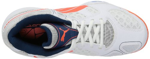 White Virante Indoor Wn's Blue fluo Shoes White Peach Weiß 01 Women's brilliant Puma gCAqdXq