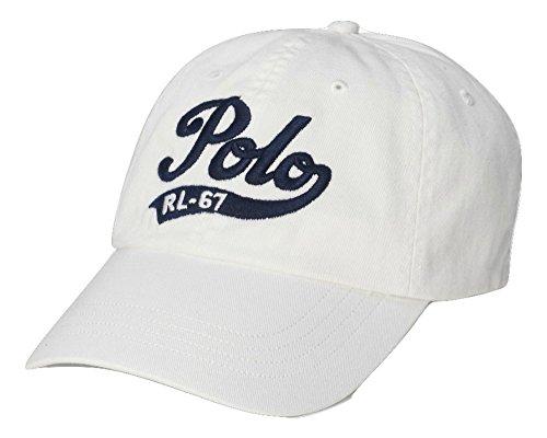 Polo Ralph Lauren Mens Chio Cap (Polo White/Navy - Rl 67