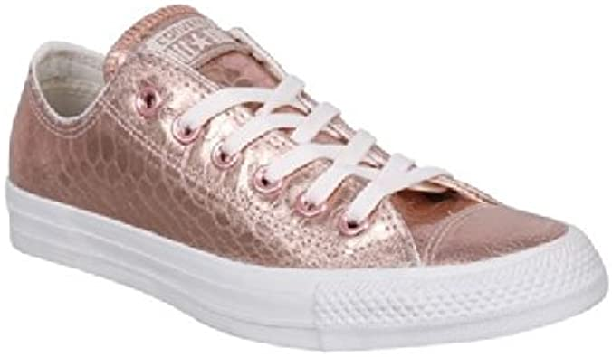 Converse , Baskets Mode pour Femme - - Rose Gold/White, 37.5 ...